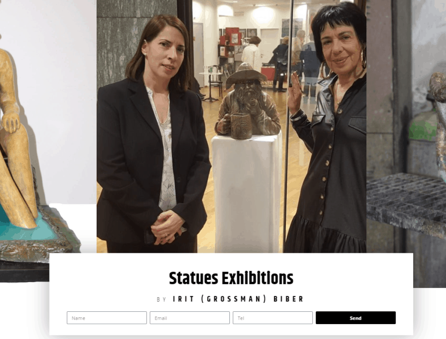 Irit Grossman Biber – Statues Exhibitions