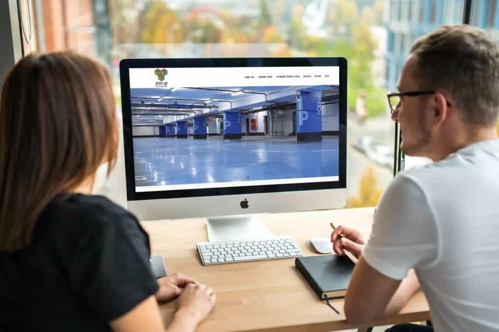 בניית אתר וקידום בשביל קו חזק