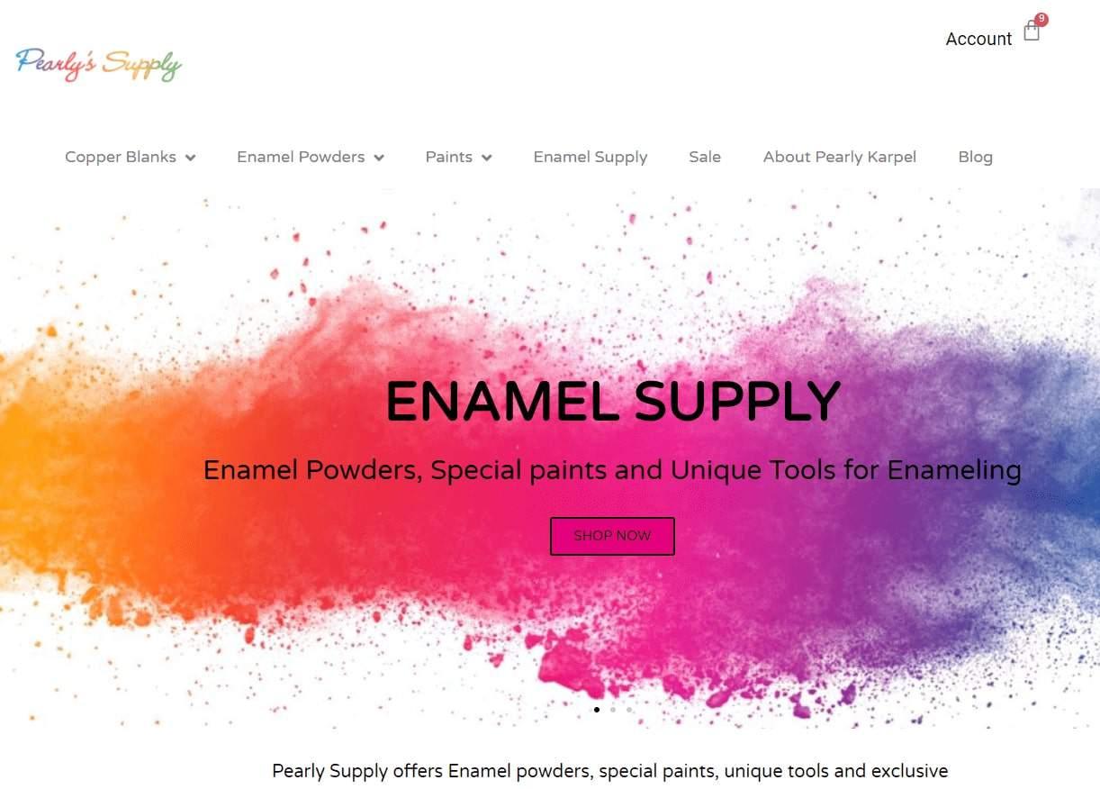 בניית אתר חנות וירטואלית לפרלי קרפל Pearly Carpel - Pearly Supply